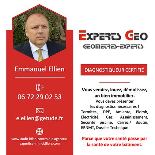 CARTE DE VISITE EXPERTS GEO