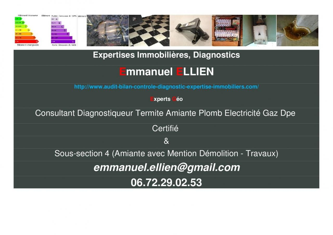 Expertises & Diagnostics immobiliers
